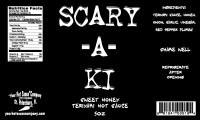 Scary-a-ki Sweet Honey Teriyaki Hot Sauce-01